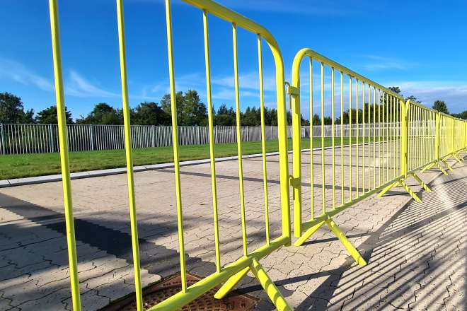 Heras Acousitc Barrier Use Onconstruction Site