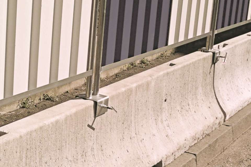 Heras fencing Ive 5870 Double Ended Spanner