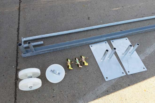 Mobile Sliding Gate Construction Set 96Dpi 1280X960Px E Nr 7948