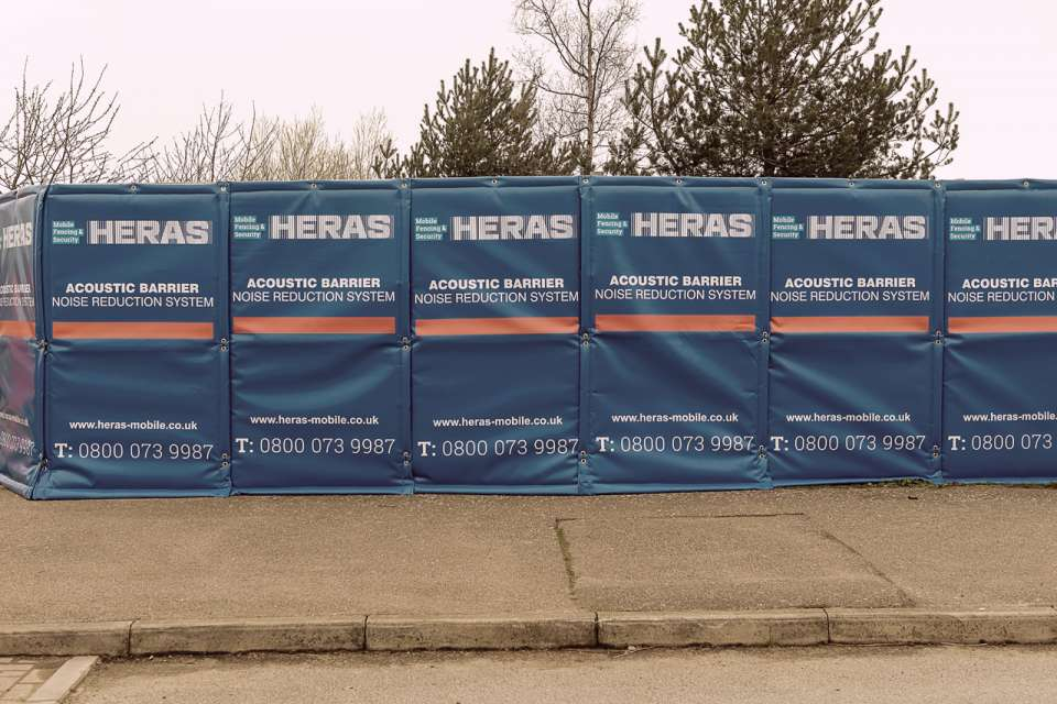 Heras Noise Control Ive 6417 Acoustic Barrier