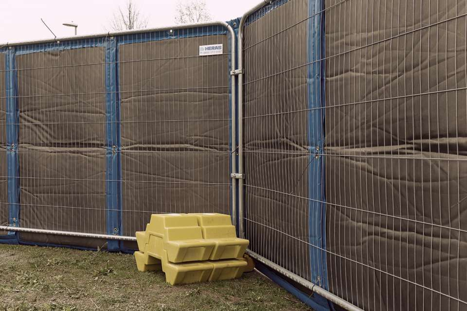 Heras Noise Control Barriers: the solution to reducing