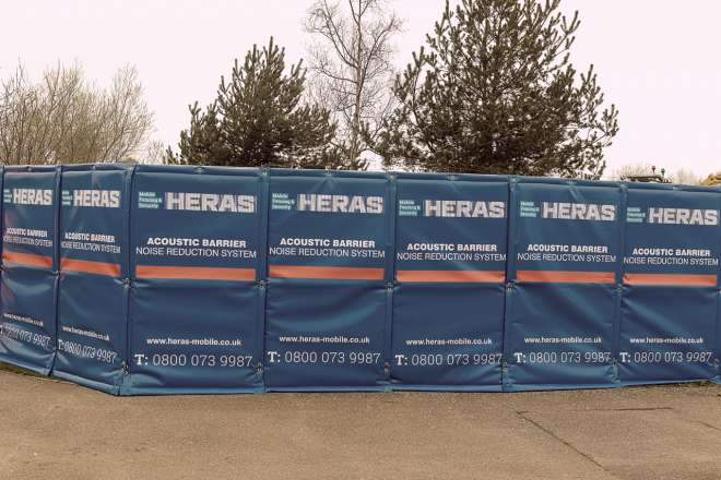 Heras Noise Control Ive 6416 Acoustic Barrier