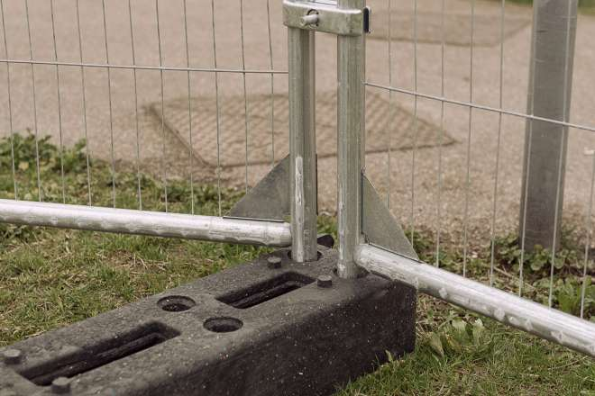 Heras fencing Ive 5951 Plastic Foot