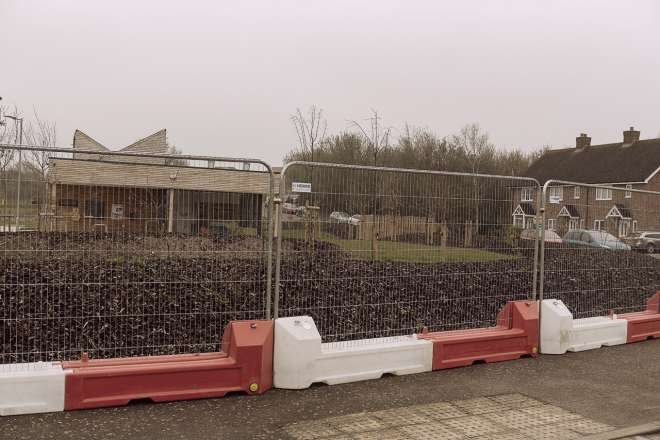 Heras fencing panels Ive 6285 Interblock System