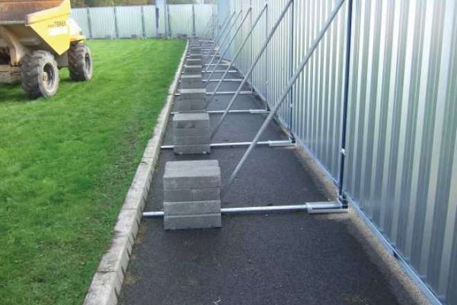 Heras Stormguard Temporary Hoarding Fencing Readyfence